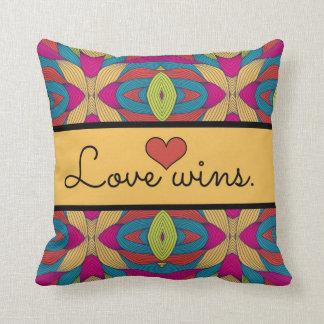 Love Wins Pillow by Endless Summer Pillows