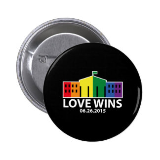 Love Wins Pinback Button