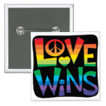 Love Wins! Pinback Buttons