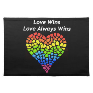 Love Wins Placemat