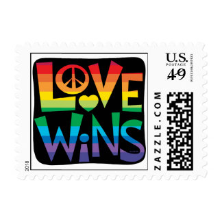 Love Wins! Postage Stamp