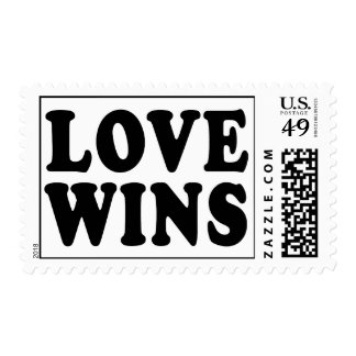 Love Wins Postage Stamps