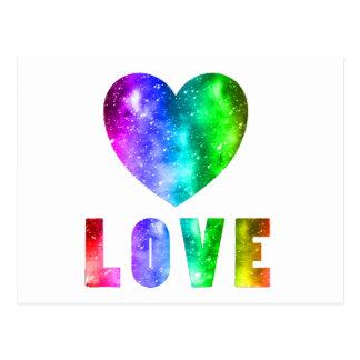 Love Wins Postcard