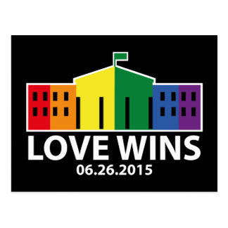 Love Wins Postcard
