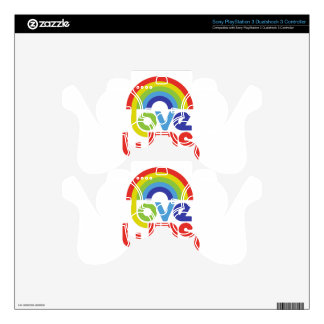 Love Wins PS3 Controller Decal