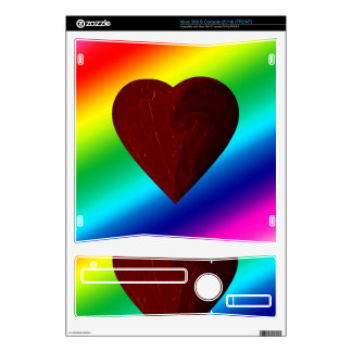 LOVE WINS! (rainbow heart) ~ Skins For Xbox 360 S