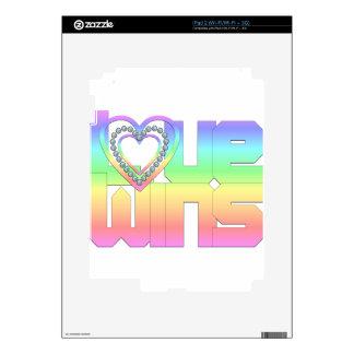 Love Wins Skins For iPad 2