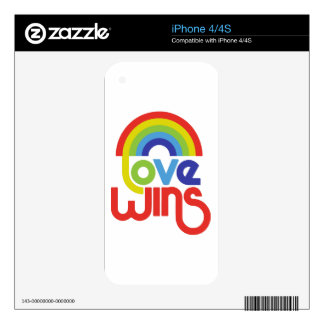Love Wins Skin For iPhone 4S