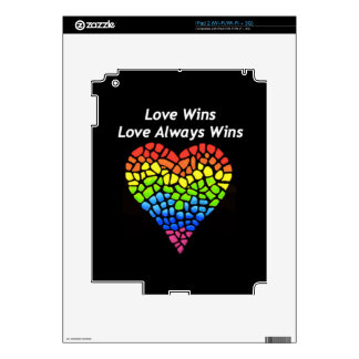 Love Wins Skins For iPad 2