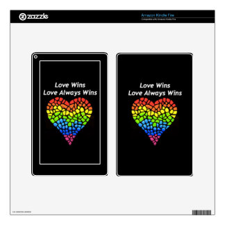 Love Wins Skins For Kindle Fire