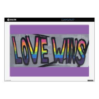 Love Wins Skins For Laptops