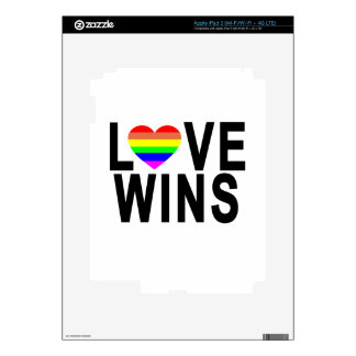 LOVE WINS T-Shirt.png Skins For iPad 3