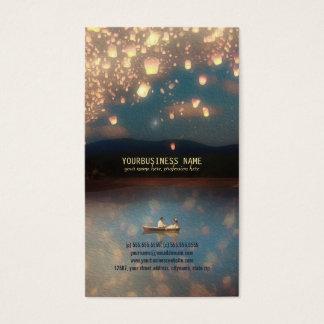 Love Wish Lanterns Business Card