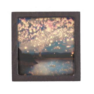 Love Wish Lanterns Jewelry Box