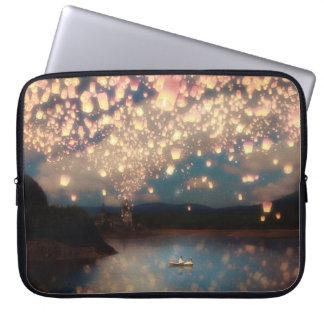 Love Wish Lanterns Laptop Sleeve