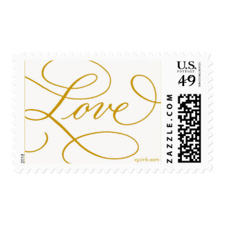 LOVE ... with a Flourish Postage