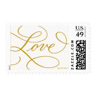 LOVE ... with a Flourish Postage