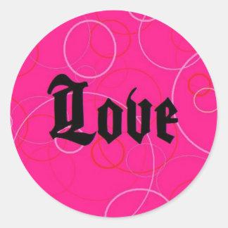 Love (with Bubbles) Sticker