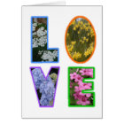Love with Flowers Card