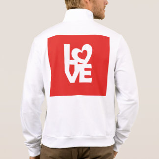 Love with Heart Printed Jacket