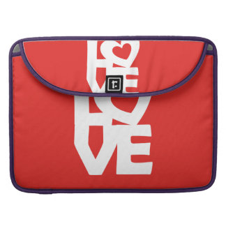 Love with Heart Sleeve For MacBook Pro