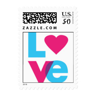 Love with Heart Stamp
