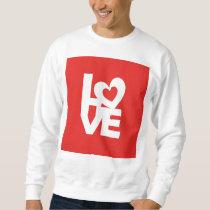 Love with Heart Sweatshirt