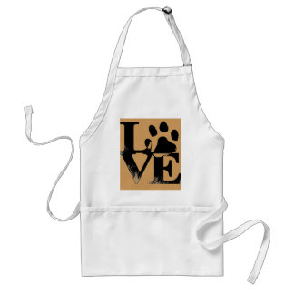 LOVE With Paw Adult Apron