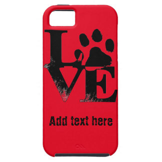 LOVE With Paw iPhone SE/5/5s Case