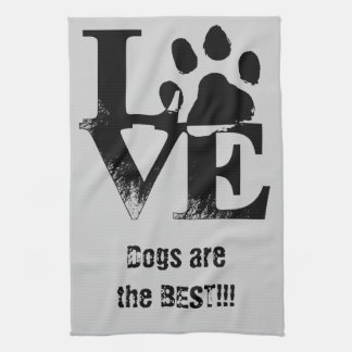 LOVE With Paw Kitchen Towels