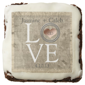 Love-With This Ring by Shirley Taylor Chocolate Brownie