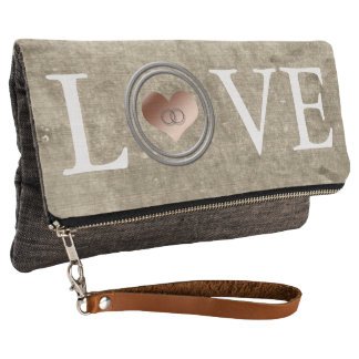 Love-With This Ring by Shirley Taylor Clutch