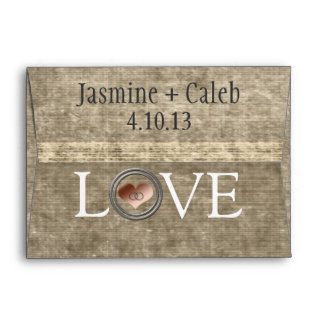 Love-With This Ring by Shirley Taylor Envelope
