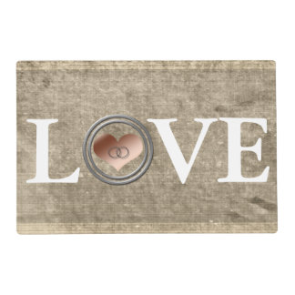 Love-With This Ring by Shirley Taylor Placemat