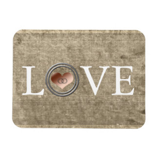 Love-With This Ring by Shirley Taylor Rectangular Photo Magnet