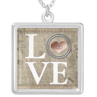 Love-With This Ring by Shirley Taylor Silver Plated Necklace