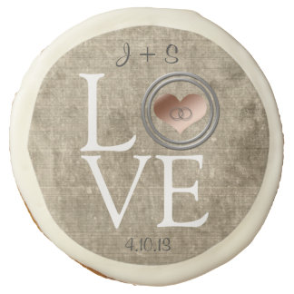 Love-With This Ring by Shirley Taylor Sugar Cookie
