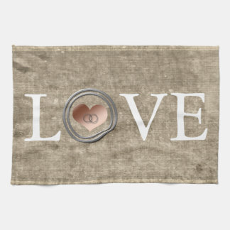 Love-With This Ring by Shirley Taylor Towels