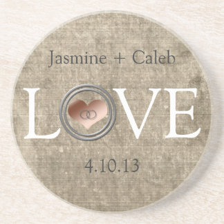 Love-With This Ring... Drink Coasters