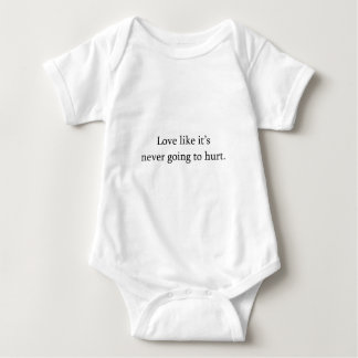 Love Without Hurt Baby Bodysuit