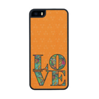 LOVE WOOD iPhone SE/5/5s CASE