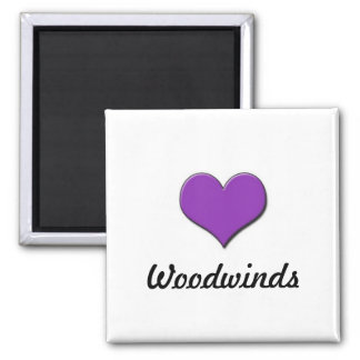 Love Woodwinds Magnet