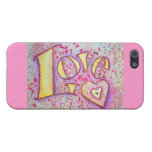 Love Word Art iPhone Case Cover For iPhone 5/5S