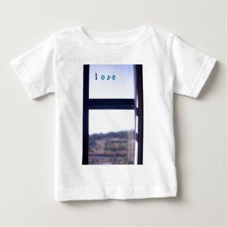 Love Word on window photograph romantic the Valent T Shirt