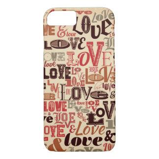 Love Words iPhone 7 Case #5
