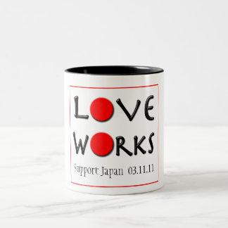 Love Works - Support Japan Mug