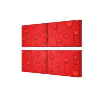 LOVE Wrapped Canvas Canvas Prints