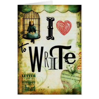 Love Writing Greeting Cards