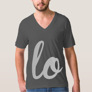 LOVE WRITING LEFT - WHITE -.png Shirt
