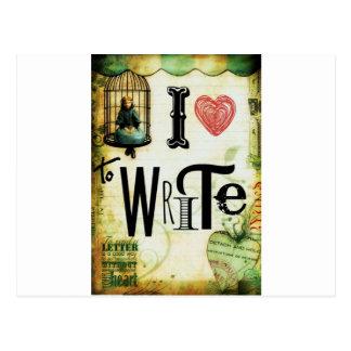 Love Writing Post Card